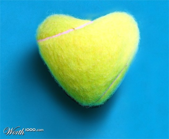 Tennis = love game of God